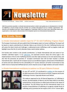 cover la strada newsletter issue 57