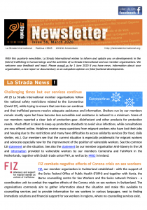 cover newsletter la strada international issue 56