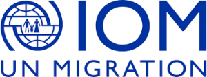 IOM and UN migration logo