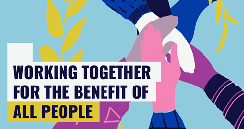 working together for the benefit of all people
