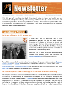 La Strada International newsletter